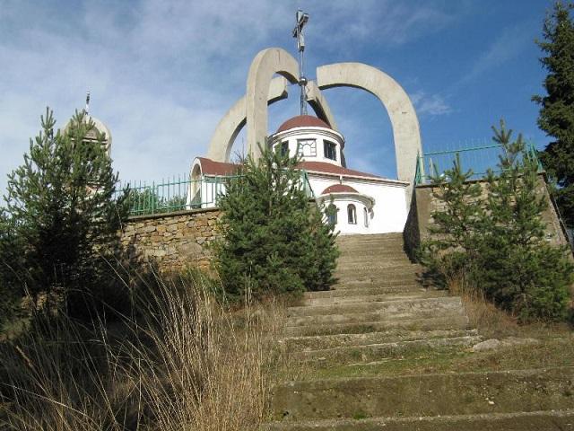 """Храм """"Св. Георги"""", село Кожари"""