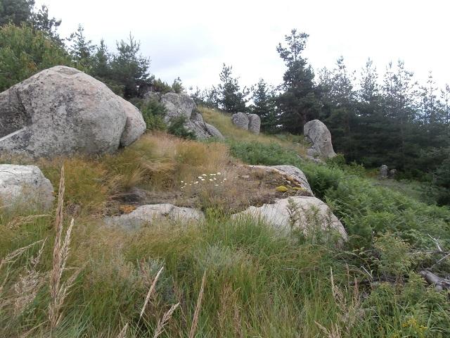 останки от светилище, връх Виденица
