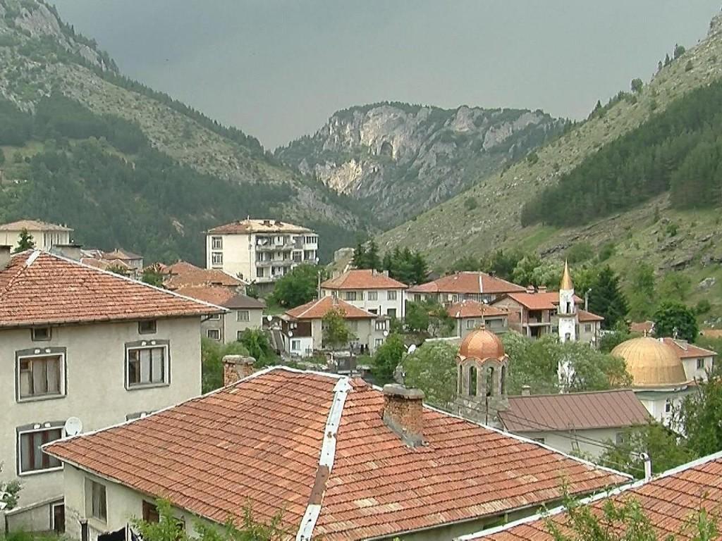Изглед от село Триград